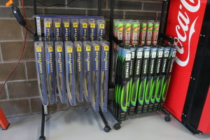 We carry many different types of wiper blades